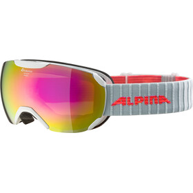 Alpina Pheos S MM Goggles pearlwhite pink spherical
